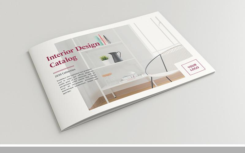 Rozvržení brožury s tmavě růžovými akcenty, 24 stránek - šablona Corporate Identity