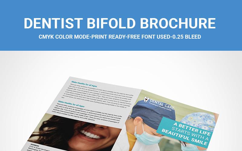 Zubní lékařská dvojkombinace - šablona Corporate Identity