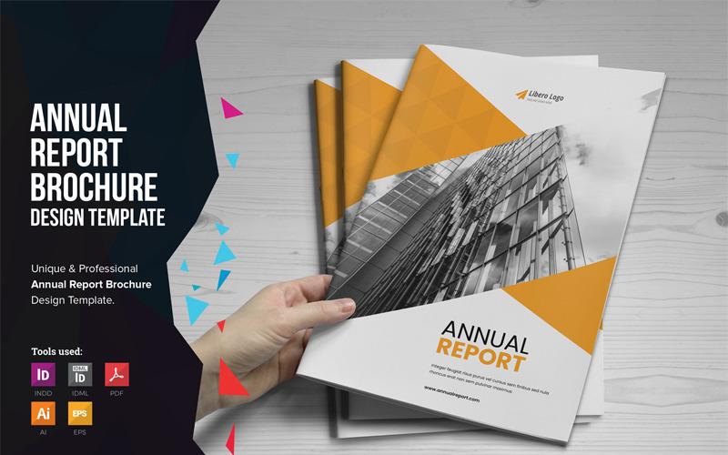 Mouri - výroční zpráva - šablona Corporate Identity