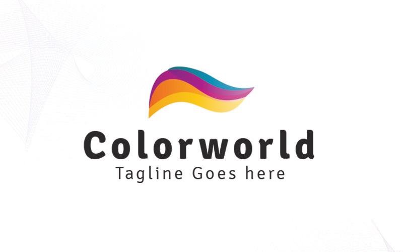 Šablona loga Colorworld