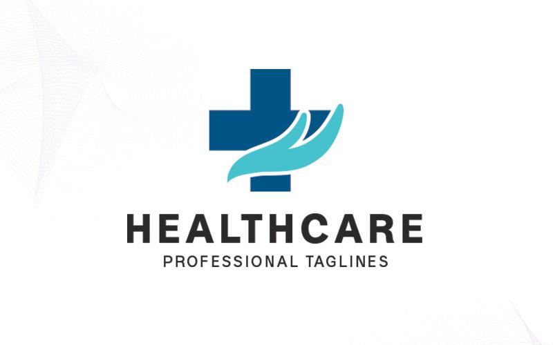 Šablona loga zdravotní péče