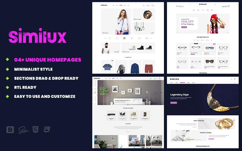 Similux   Minimální téma Shopify