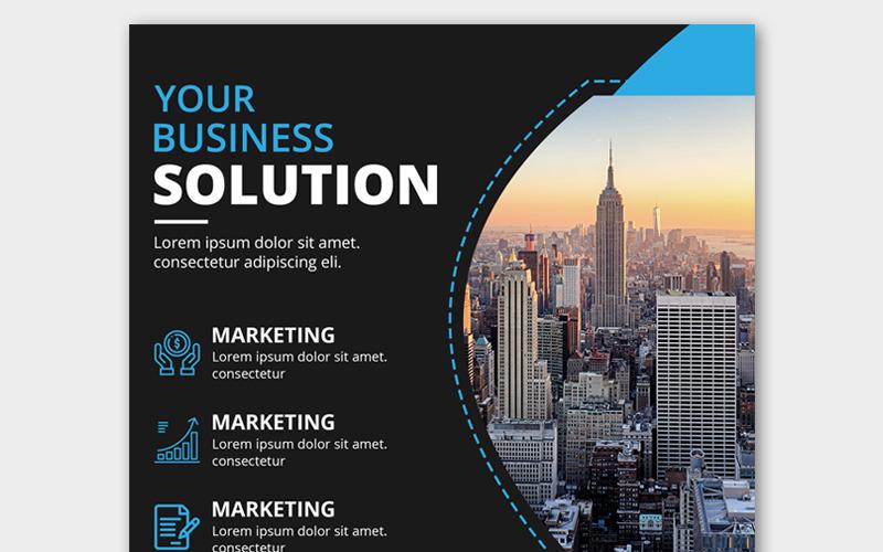 Šablona nápisu Business Post Šablona pro sociální média