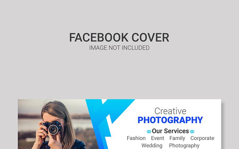 Šablona titulní stránky Facebooku pro sociální média