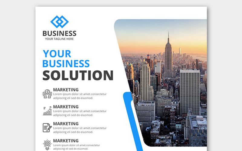 Marketing Webové bannery Šablona sociálních médií