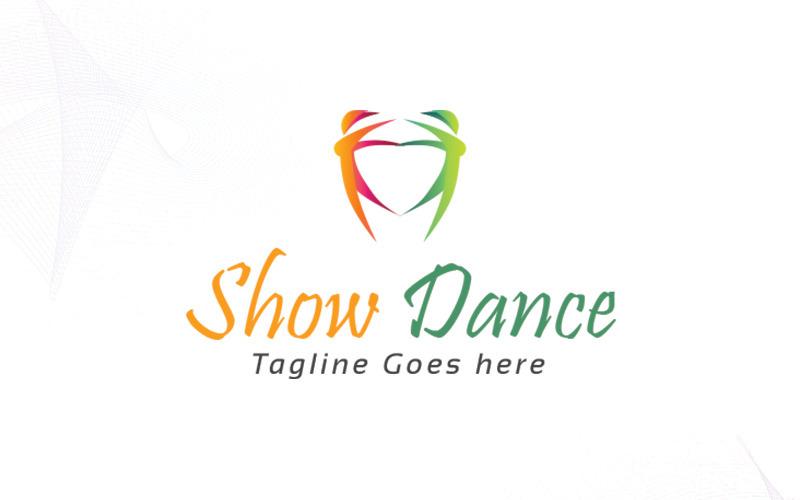 Taneční Logo šablona