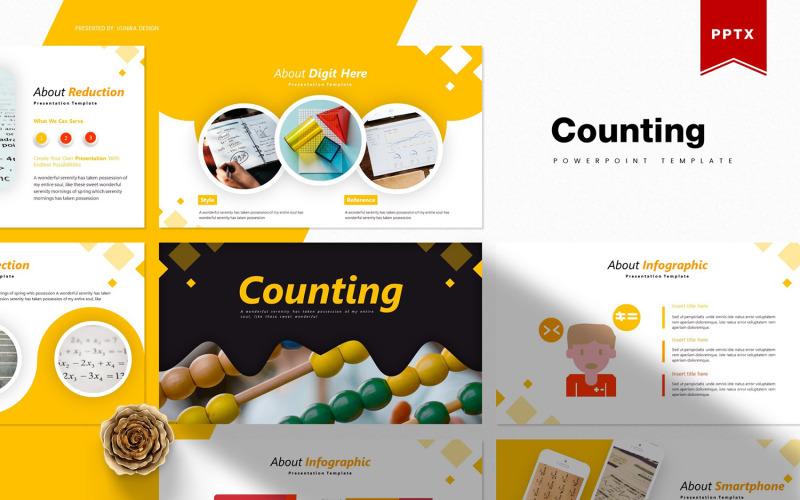Počítání | PowerPoint šablony