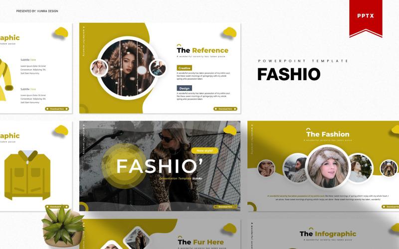 Fashio | PowerPoint šablony