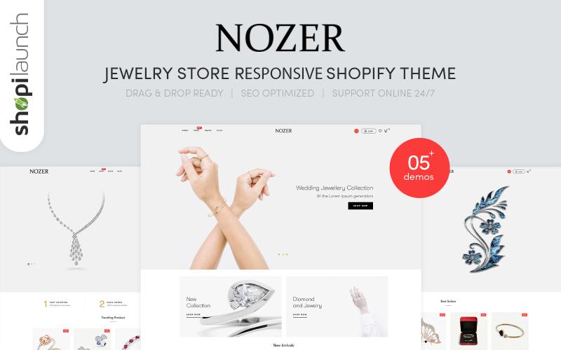 Responzivní téma Shopify Nozer- klenotnictví