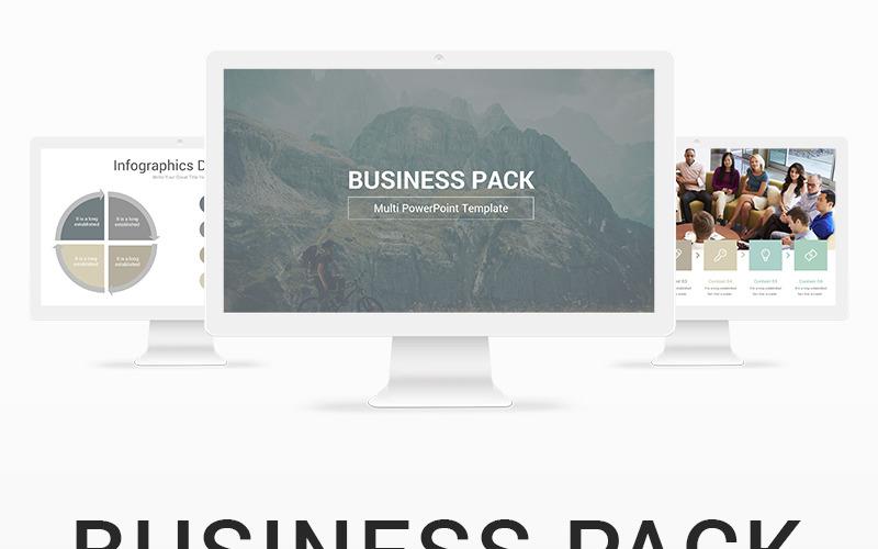 Šablona Business Pack PowerPoint