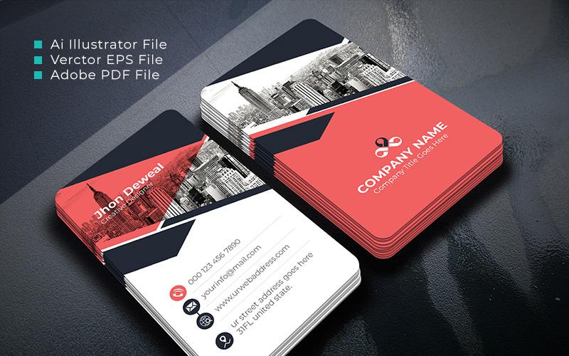 Artisgraph Business Card - šablona Corporate Identity