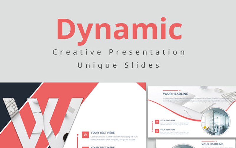 Dynamická PowerPoint šablona