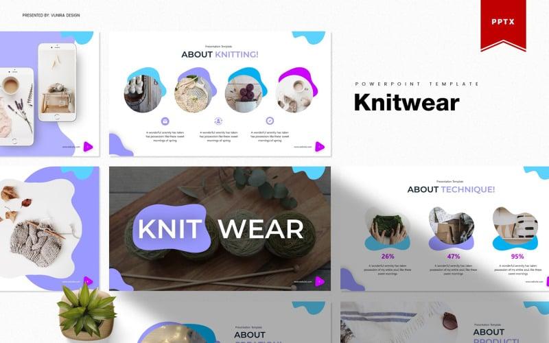 Pletené zboží | PowerPoint šablony