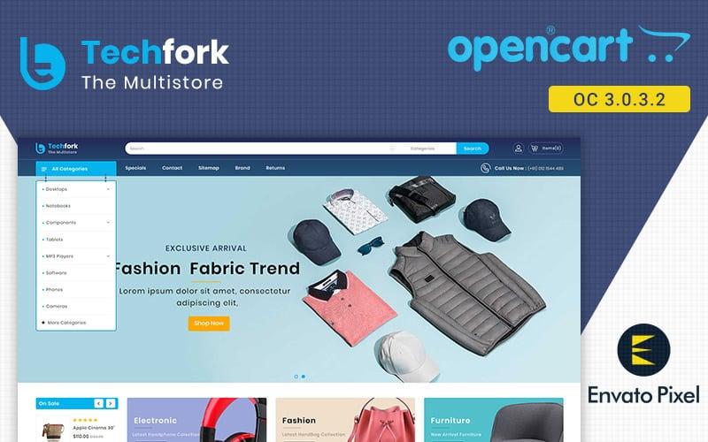 Techfork - szablon OpenCart sklepu elektronicznego