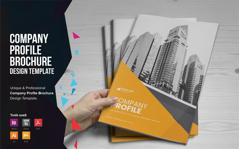 Afra - Brožura s profilem společnosti - Šablona Corporate Identity