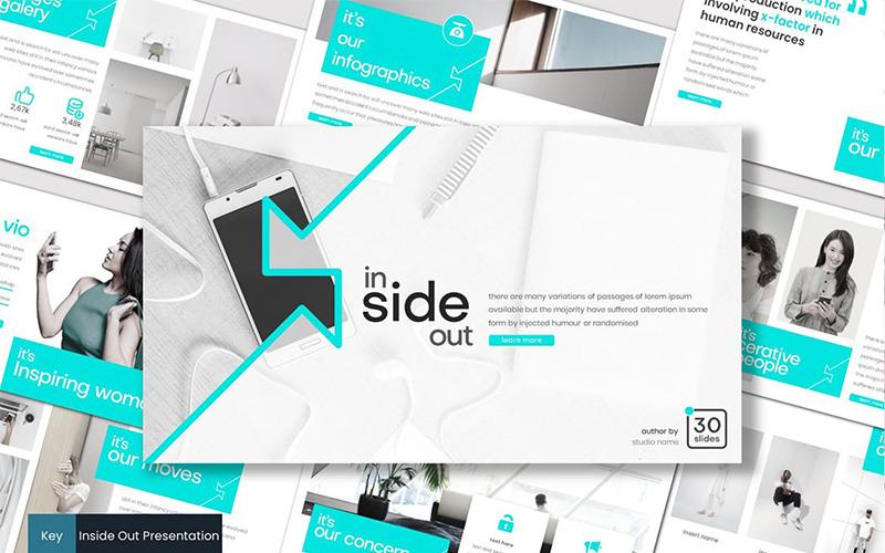 Inside Out - šablona Keynote