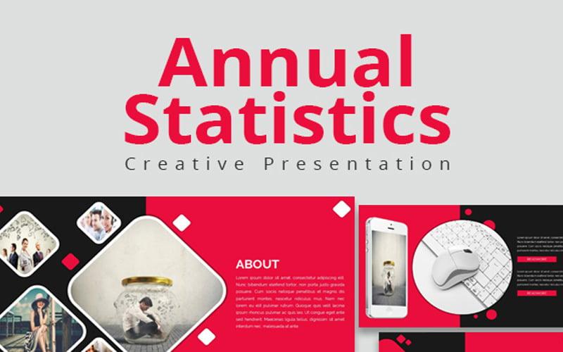 Annual Statistics Google Slides