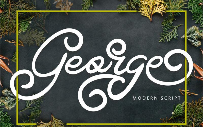 George   Moderní víření písma
