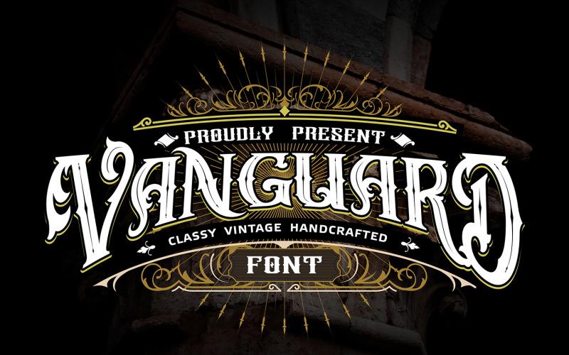 Vanguard | Klasické ručně vyrobené písmo