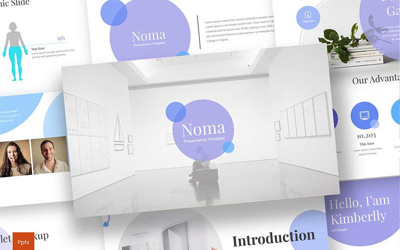 Noma PowerPoint šablony