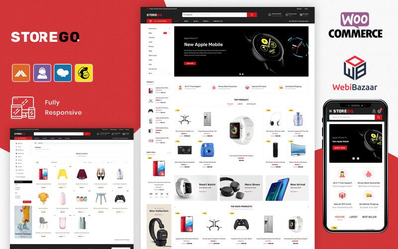 StoreGo - MultiPurpose Electronic Store WooCommerce Theme
