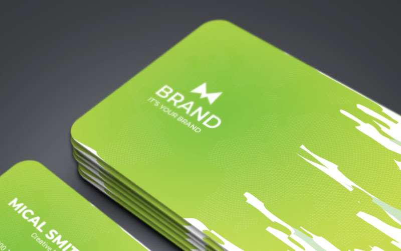 Brand - Business Card - Corporate Identity Template