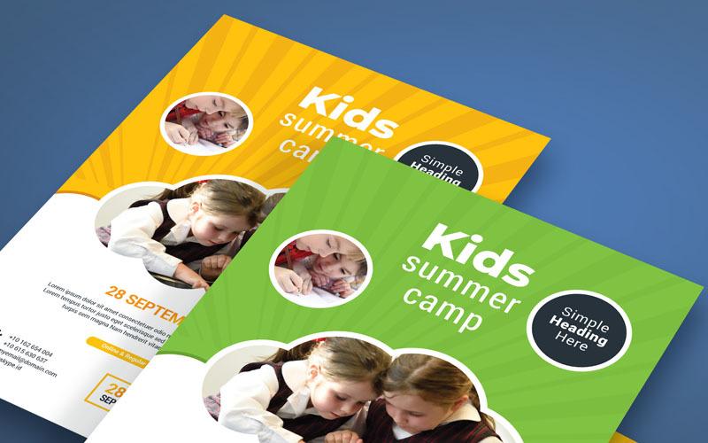 Kids Flyer - Corporate Identity Template