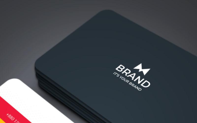 Značka - Mix Copporate Business Card - Šablona Corporate Identity