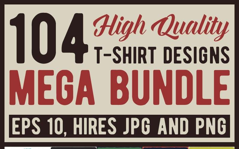 Mega Bundle - Diseño de camiseta