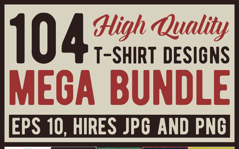 Mega Bundle - Дизайн футболки
