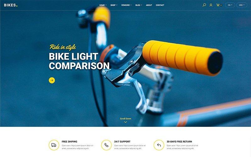 Bikes - Shop WooCommerce