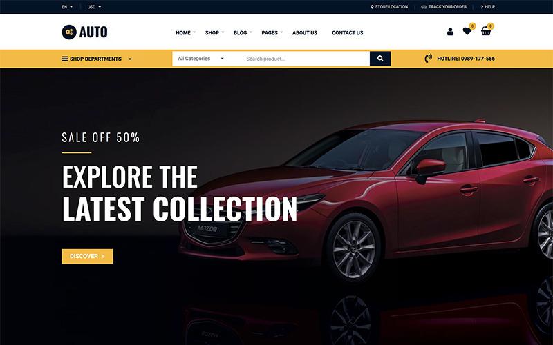 Auto Reparatie - Automonteur Services WooCommerce-thema