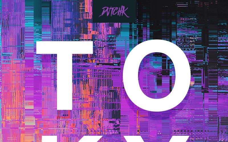Tokio   City Glitch   Vol. 01 Tło