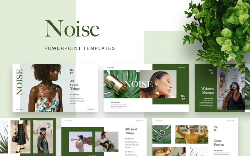 Plantilla de PowerPoint - ruido