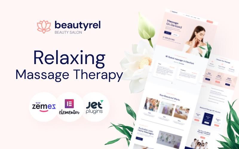 Beautyrel - тема WordPress для расслабляющего массажа
