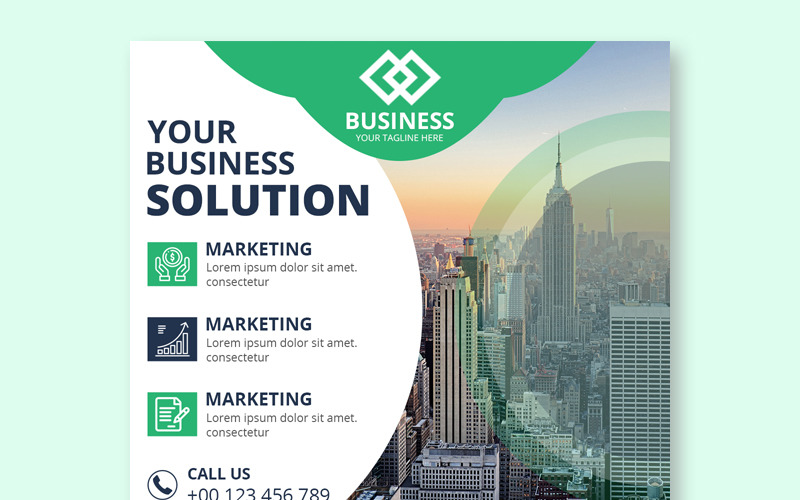 Business Instagram Post Banners Social Media Template