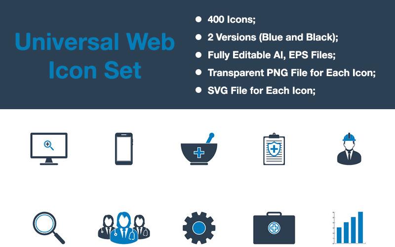 Premium - Universal Web Icon Set