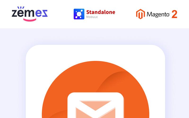 Спливаюче розширення Magento для інформаційного бюлетеня Zemez