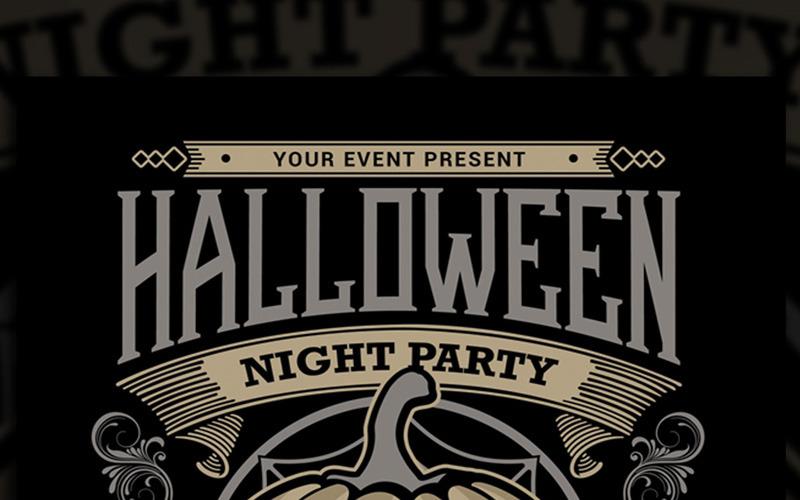 Halloween Night Party - Шаблон фирменного стиля