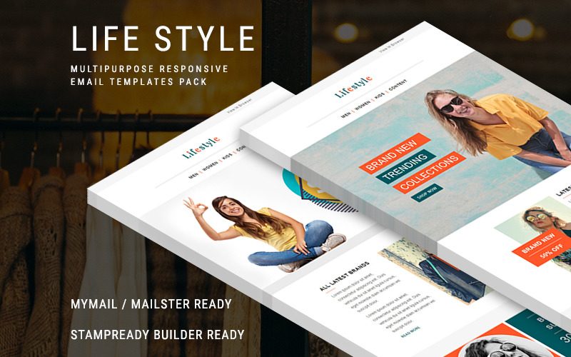 Life Style - Responsive Email Newsletter Template