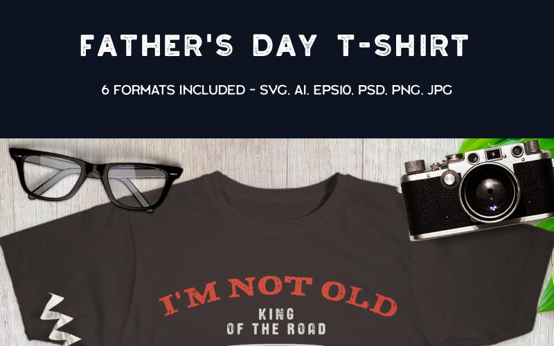 Retro Car - Nie jestem stary Jestem klasyczny - Projekt koszulki