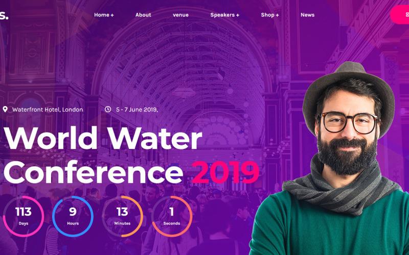 Eventes - WordPress тема для конференций и мероприятий