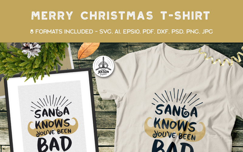 You Know When You/'ve Been Bad When Santa Svg Xmas Gift Idea Holiday Party Png Funny Christmas Svg Santa Claus Funny decoration