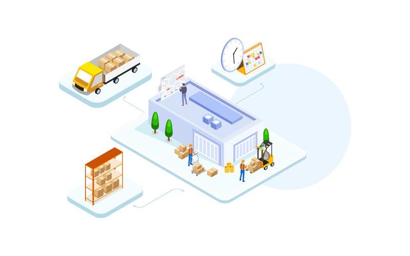 Управление товарами 3 - Иллюстрация