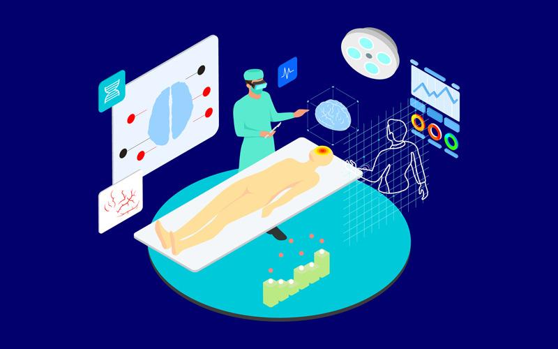 Взаимодействие с виртуальными врачами 2 - Иллюстрация