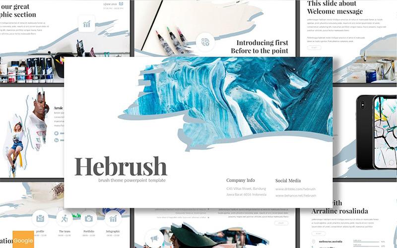 Google Slides Hebrush