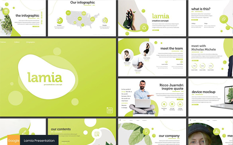 Lamia Google Slides