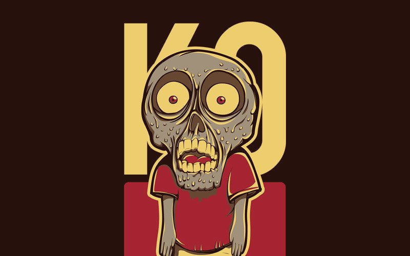Little Zombie - T-shirt Design