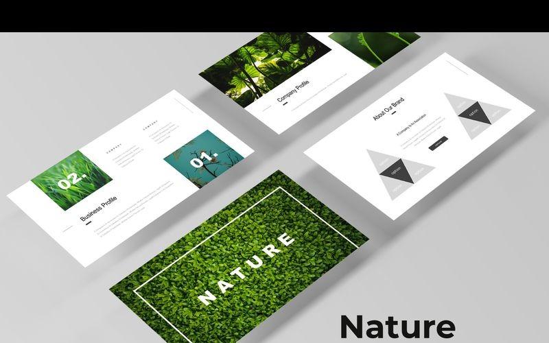 Nature - Keynote-Vorlage