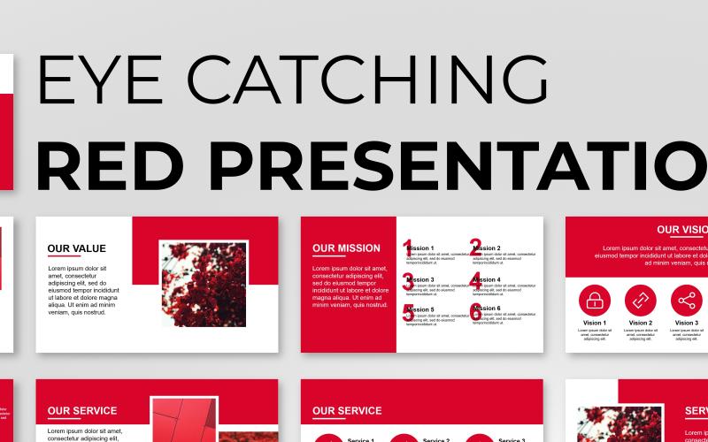 Eye Catching Presentation PowerPoint template